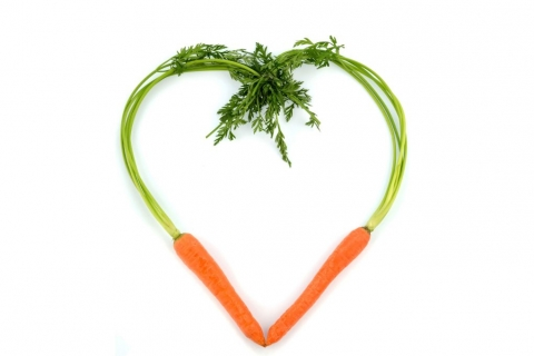 carrots-heart-shape
