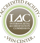 vein center IAC badge